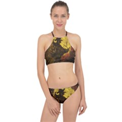 Witch On Moon Racer Front Bikini Set