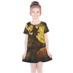 Witch On Moon Kids  Simple Cotton Dress