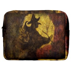 Witch On Moon Make Up Pouch (large)