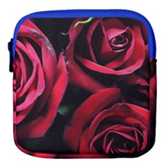 Red Roses Mini Square Pouch