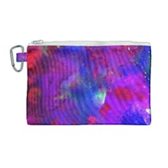 Galaxy Now Canvas Cosmetic Bag (large)