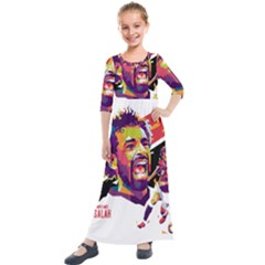 Ap,550x550,12x12,1,transparent,t U1 Kids  Quarter Sleeve Maxi Dress by 2809604