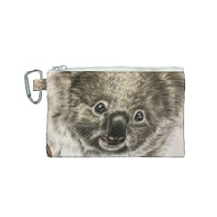 Koala Bear Canvas Cosmetic Bag (small)