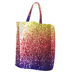 Rainbow Glitter Graphic Giant Grocery Tote