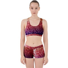 Rainbow Glitter Graphic Work It Out Gym Set