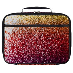 Rainbow Glitter Graphic Full Print Lunch Bag