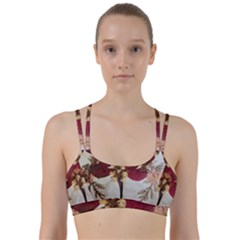 Holy Land Flowers 1 Line Them Up Sports Bra