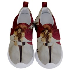 Holy Land Flowers 1 Velcro Strap Shoes by DeneWestUK