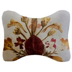 Holy Land Flowers 3 Velour Seat Head Rest Cushion
