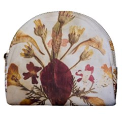 Holy Land Flowers 3 Horseshoe Style Canvas Pouch