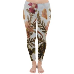 Holy Land Flowers 4 Classic Winter Leggings