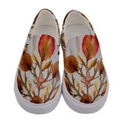 Holy Land Flowers 14 Women s Canvas Slip Ons