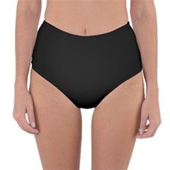 Define Black Reversible High Waist Bikini Bottoms
