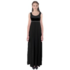 Define Black Empire Waist Maxi Dress