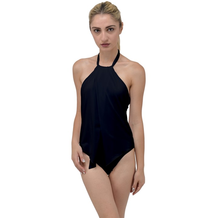 Define Black Go with the Flow One Piece Swimsuit