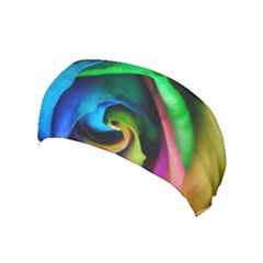 Rainbow Rose 17 Yoga Headband