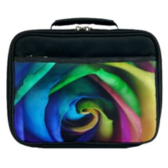 Rainbow Rose 17 Lunch Bag