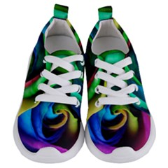 Rainbow Rose 17 Kids  Lightweight Sports Shoes