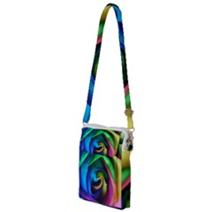 Rainbow Rose 17 Multi Function Travel Bag