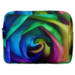 Rainbow Rose 17 Make Up Pouch (large)