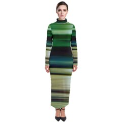 Greenocean Turtleneck Maxi Dress
