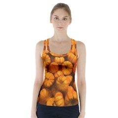 Pumpkins Tiny Gourds Pile Racer Back Sports Top