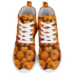 Pumpkins Tiny Gourds Pile Women s Lightweight High Top Sneakers