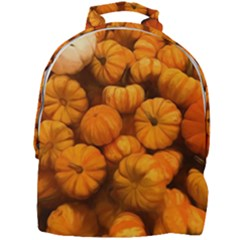 Pumpkins Tiny Gourds Pile Mini Full Print Backpack by bloomingvinedesign
