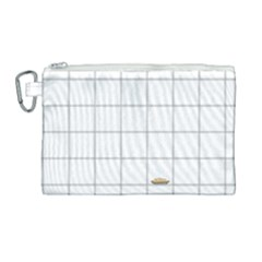Pie Cooling On The Window Pane Pattern Canvas Cosmetic Bag (large)