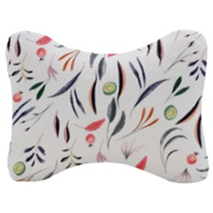 Watercolor Tablecloth Fabric Design Velour Seat Head Rest Cushion