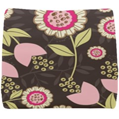 Flowers Wallpaper Floral Decoration Seat Cushion