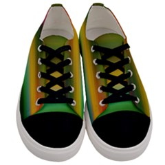 Art Blur Wallpaper Artistically Men s Low Top Canvas Sneakers
