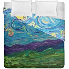 A Very Very Starry Night Duvet Cover Double Side (king Size)