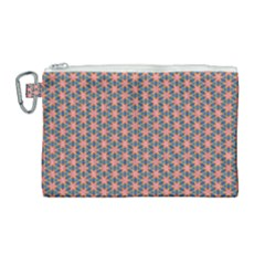 Background Pattern Texture Canvas Cosmetic Bag (large)