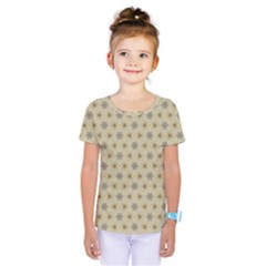 Star Basket Pattern Basket Pattern Kids  One Piece Tee