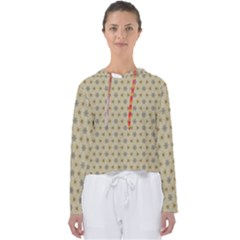 Star Basket Pattern Basket Pattern Women s Slouchy Sweat