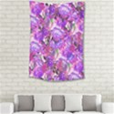Flowers Abstract Digital Art Small Tapestry View2