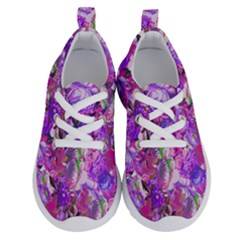 Flowers Abstract Digital Art Running Shoes by Jojostore
