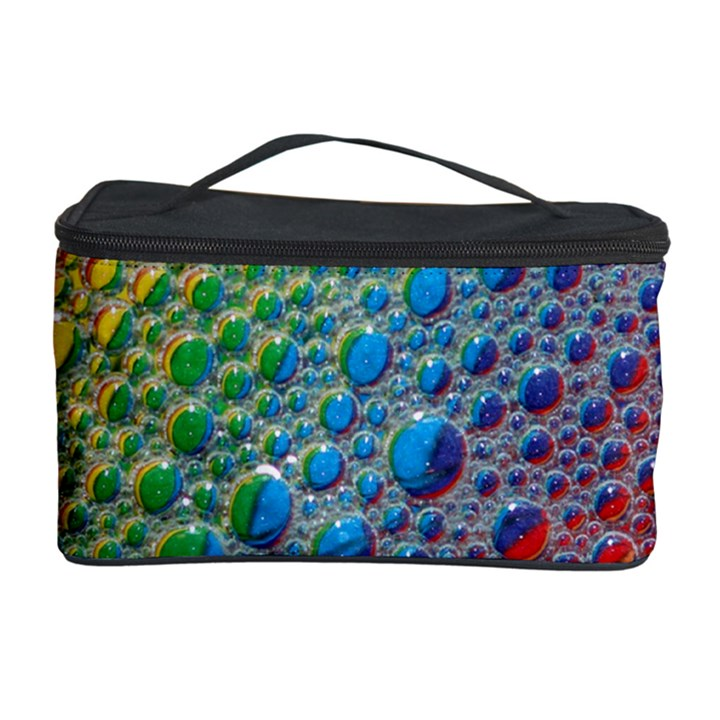 Bubbles Rainbow Colourful Colors Cosmetic Storage