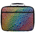 Bubbles Rainbow Colourful Colors Full Print Lunch Bag View1