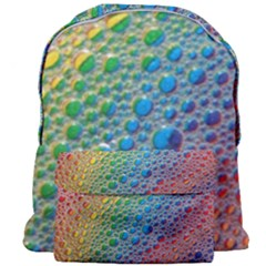 Bubbles Rainbow Colourful Colors Giant Full Print Backpack