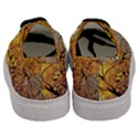 Summer Sun Set Fractal Forest Background Men s Classic Low Top Sneakers View4