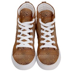 Circuit Board Women s Hi Top Skate Sneakers