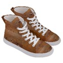 Circuit Board Women s Hi-Top Skate Sneakers View3