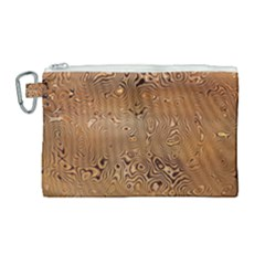 Circuit Board Canvas Cosmetic Bag (large)