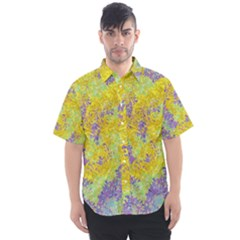 Backdrop Background Abstract Men s Short Sleeve Shirt