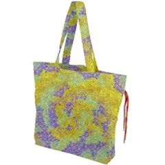 Backdrop Background Abstract Drawstring Tote Bag by Jojostore