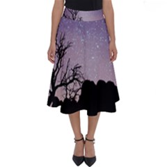 Arches National Park Night Perfect Length Midi Skirt