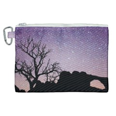 Arches National Park Night Canvas Cosmetic Bag (xl) by Jojostore