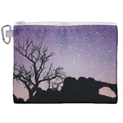 Arches National Park Night Canvas Cosmetic Bag (xxl) by Jojostore